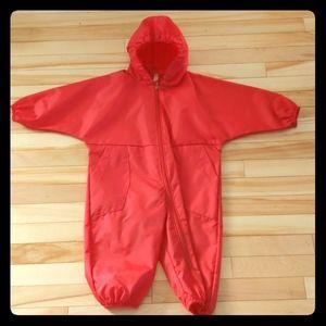 Other - One piece waterproof splash suit